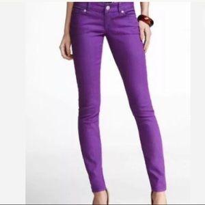EXPRESS JEAN LEGGING Slim Ultra Low Skinny Jeans